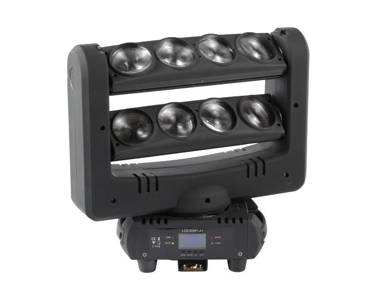 XC-C-022  8 Eyes Up And Down LED Spider Beam Light